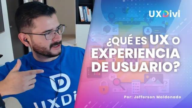 ¿Qué es UX o Experiencia de Usuario y como podemos aplicarlo?
