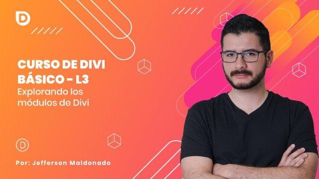 L3 Explorando los módulos de Divi
