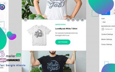 Integrar Divi con Woocommerce y Mailerlite para campañas de productos