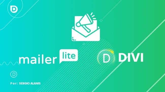 Cómo integrar el módulo optin email marketing de Divi con MailerLite