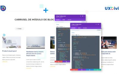 Convertir el módulo de blog en un carrusel deslizable con Divi & js slick