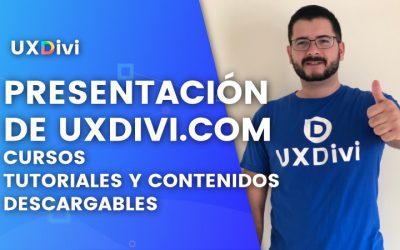 Webinar #1 Presentación de UXDivi y platica sobre la plataforma.