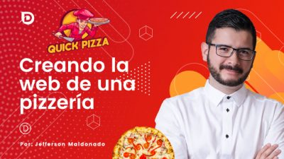 curso crear la web de una pizzería con Woo y Divi