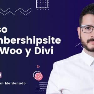 Curso de woocommerce membership Divi