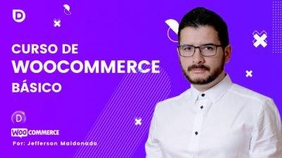 Portada curso Woocommerce básico web uxdivi