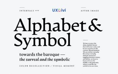 Qué tipografía elegir para tu proyecto de diseño web con Divi