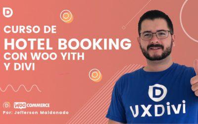Curso de Hotel Booking con Yith Woocommerce y Divi