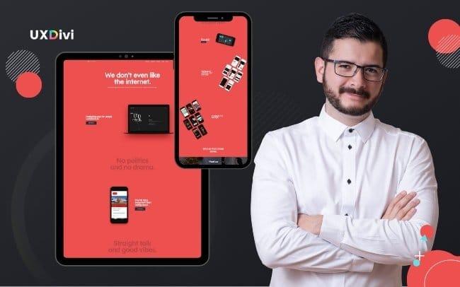 Creación de una web minimalista, bases, conceptos y maquetado