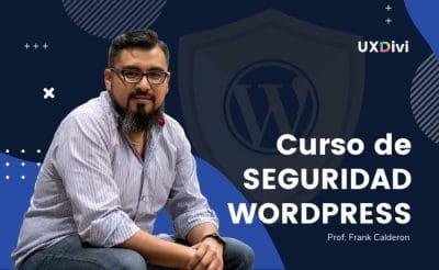Curso de Seguridad WordPress UXDIVI