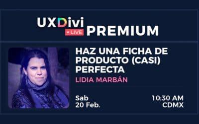 Webinar #11 – Haz una ficha de producto (casi) perfecta con Lidia Marbán