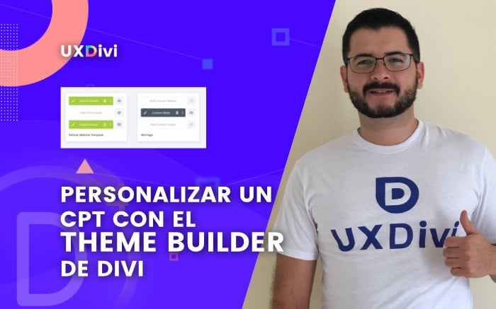Personalizar un Custom Post Type con el Theme Builder de Divi