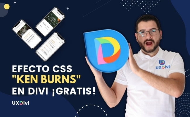 Como crear el efecto de CSS KEN BURNS en Divi 🔥