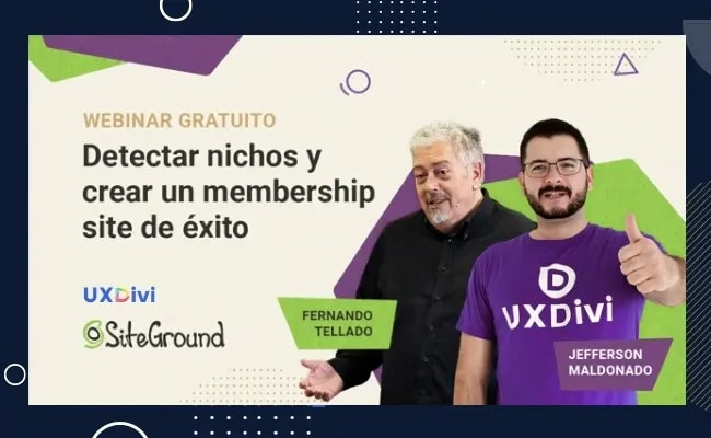 Detectar nichos y crear membership sites con WordPress – Siteground Talk