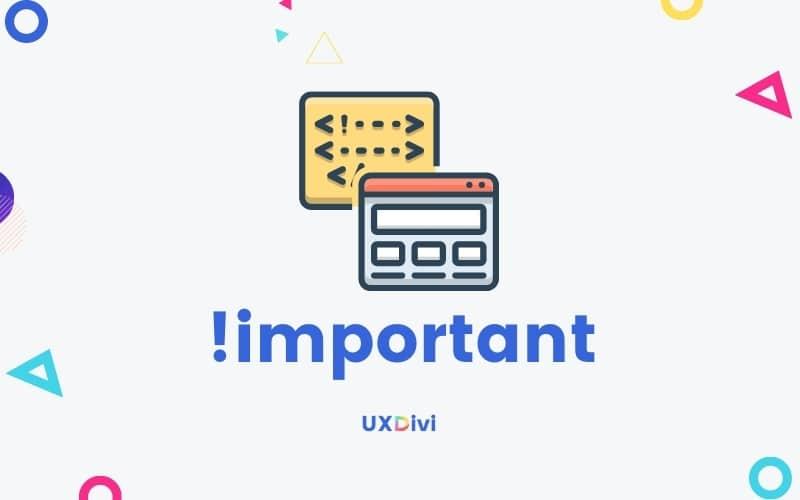 !Important: ¿Qué es y cuándo usarlo?