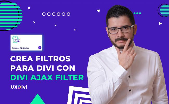 Crear Filtros en tienda online en Divi con Divi Ajax Filter