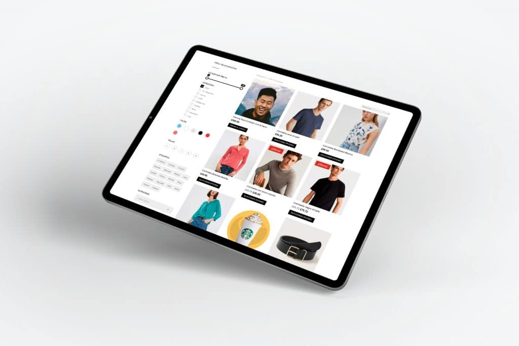 Crear Filtros en tienda online en Divi con Divi Ajax Filter muestra