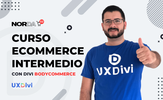 Curso intermedio de tienda online con Divi BodyCommerce
