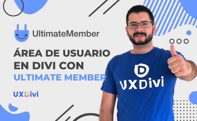 Crear área de usuario para tu sitio de cursos en Divi con Ultimate Member.