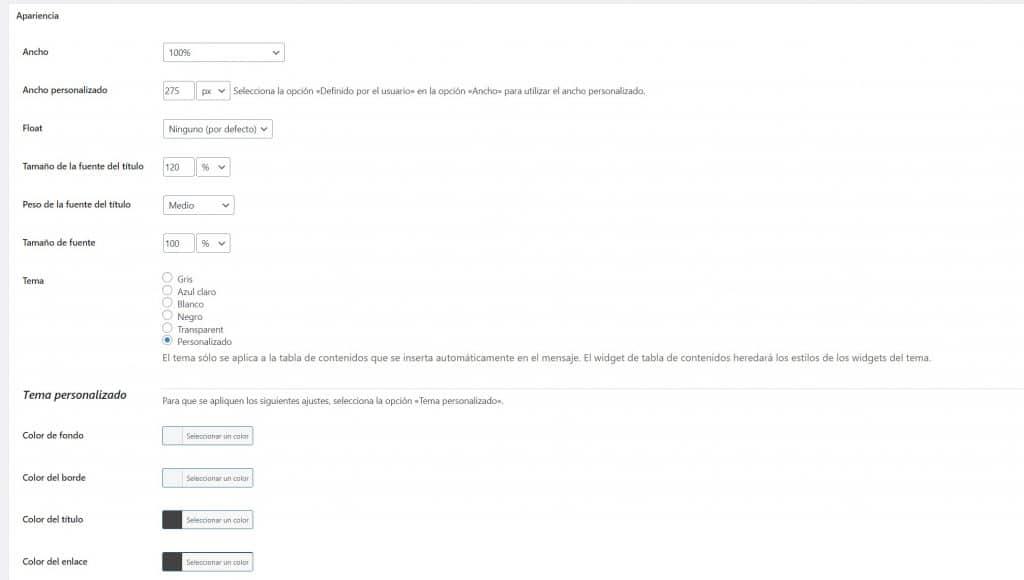 Tutorial WordPress: Cómo crear una tabla de contenidos en WordPress. plugin